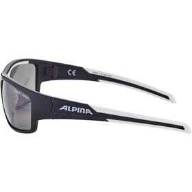 Alpina Testido Lunettes, black matt-white